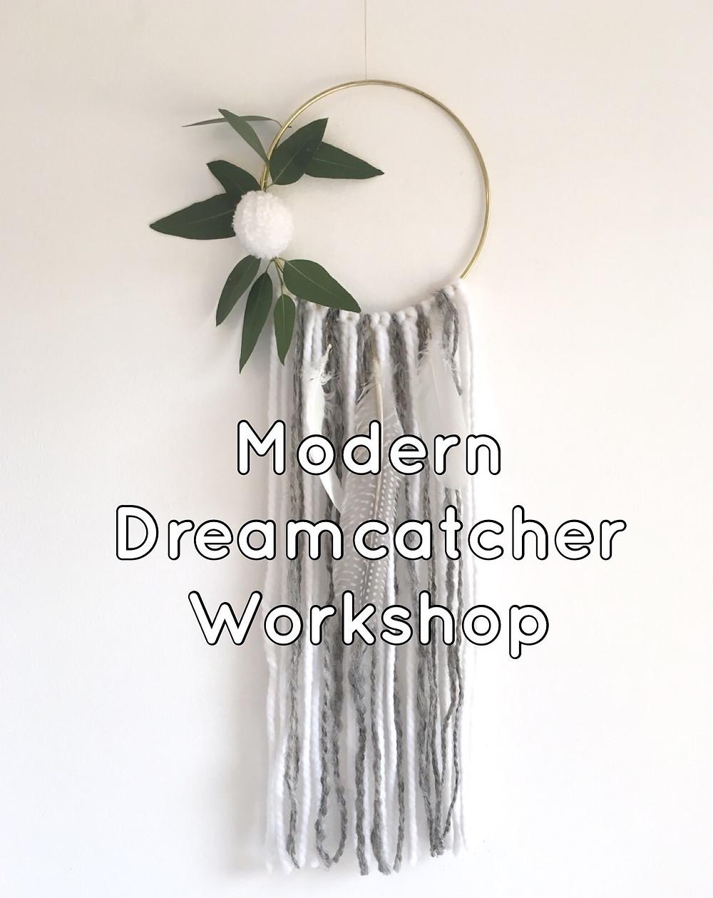 My Crafternoons Modern Dreamcatcher Workshop