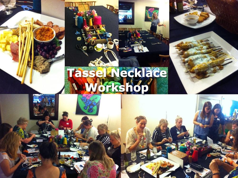 My Crafternoons Tassel Workshop
