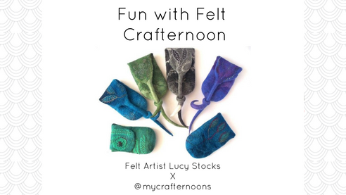 Fun with Felt Crafternoon!