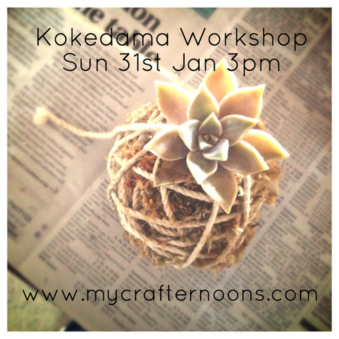 Kokedama Workshop!