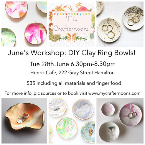 DIY Clay Ring Bowl Workshop
