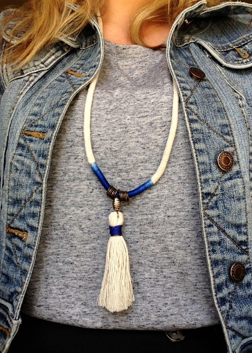 Tassel Necklace My Crafternoons