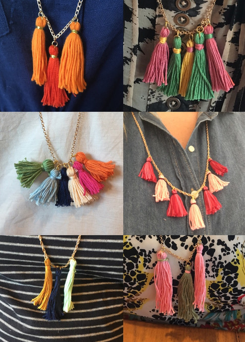 Tasty Treats and Tassel Necklaces!