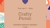Crafty Picnic in the Gardens to start 2020!