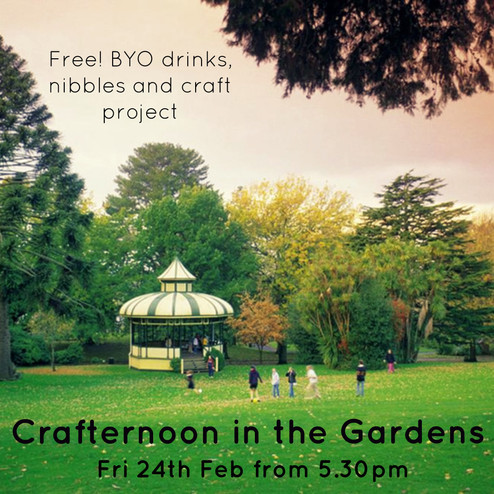 Crafternoon in the Gardens