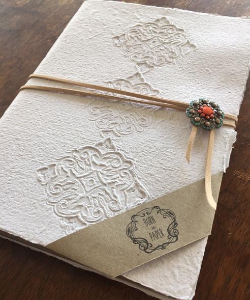 Paper Making and Handmade Journal Workshop!