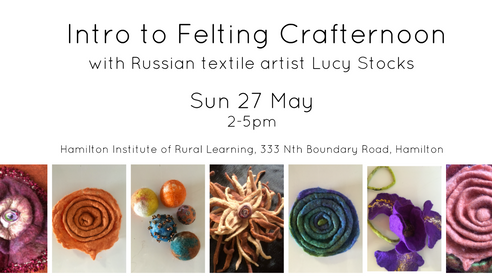Intro to Felting Crafternoon