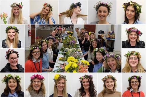 Flower Crown Workshop! 🌸