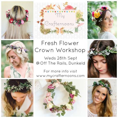 Spring Crafternoon: Fresh Flower Crowns!