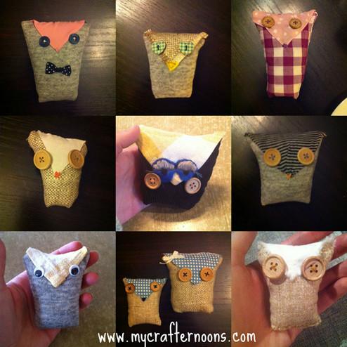 Owl Hand Warmers Tutorial