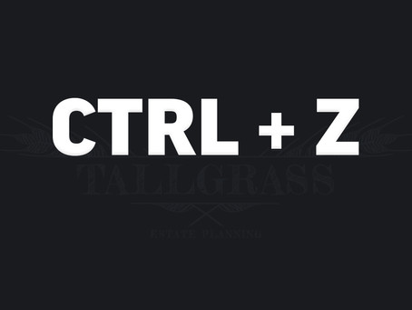 Ctrl + Z: How to Modify an Irrevocable Trust