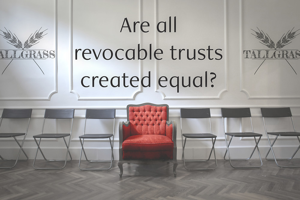 Revocable Living Trust; Tulsa Estate Planning Attorney