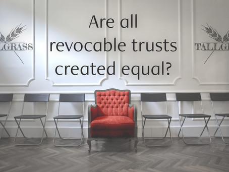 When is a Trust not a Trust?