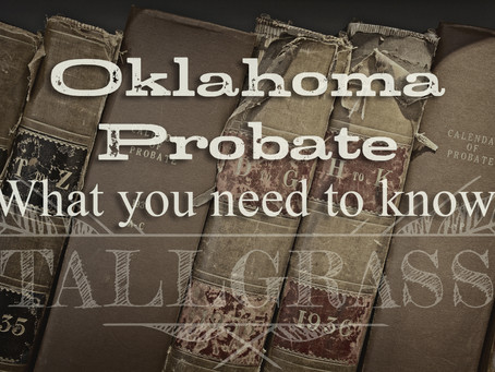 Probate: Now what?
