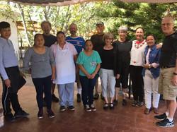 Amazing staff & yoga group