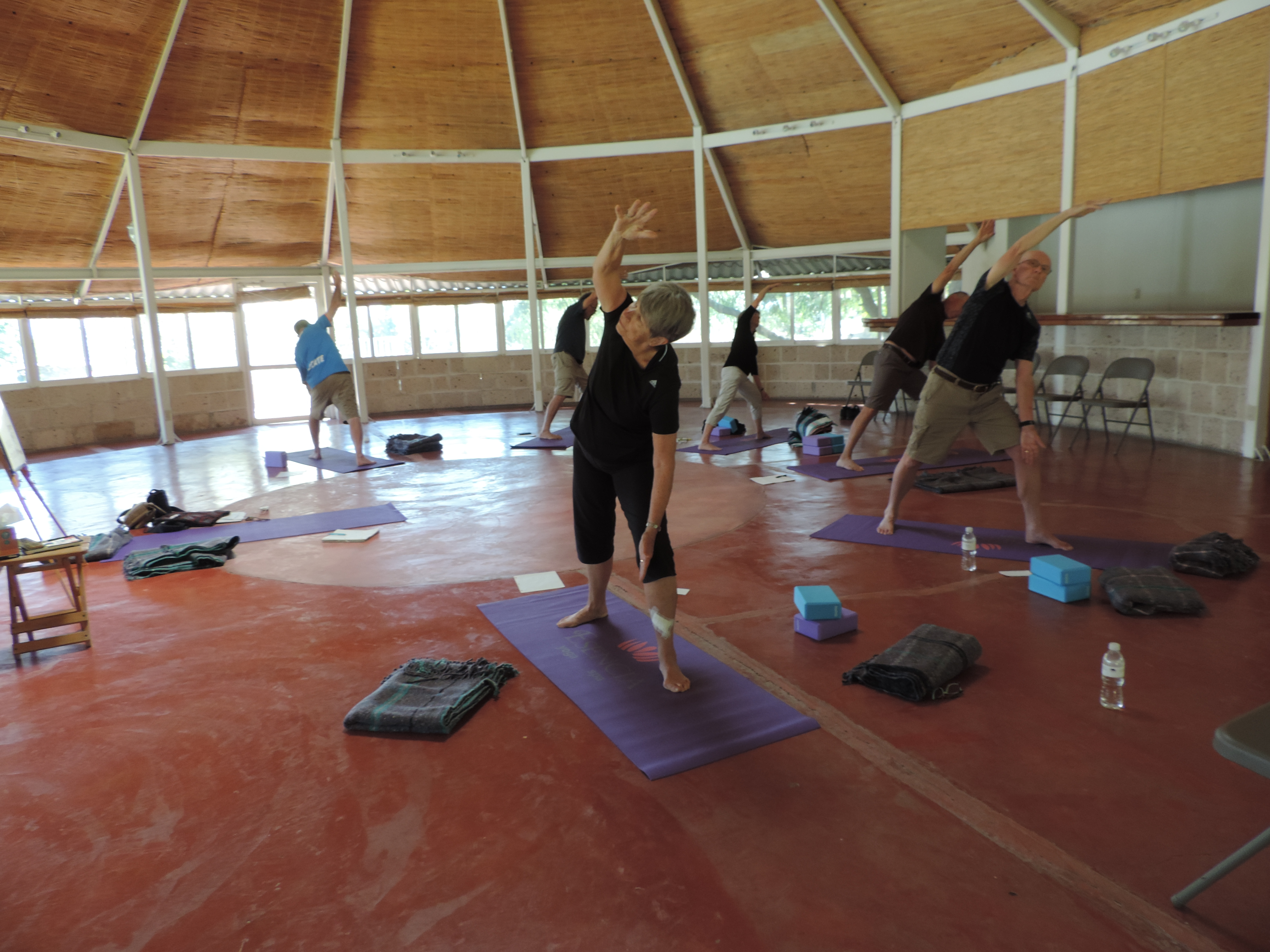Yoga at Purisima