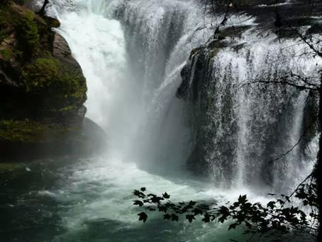 """Waterfall words"" by Susana Laborde-Blaj"