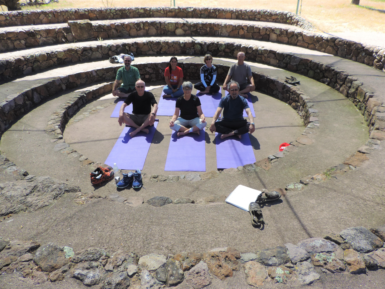 """Yoga at """"El Caracol"""""""