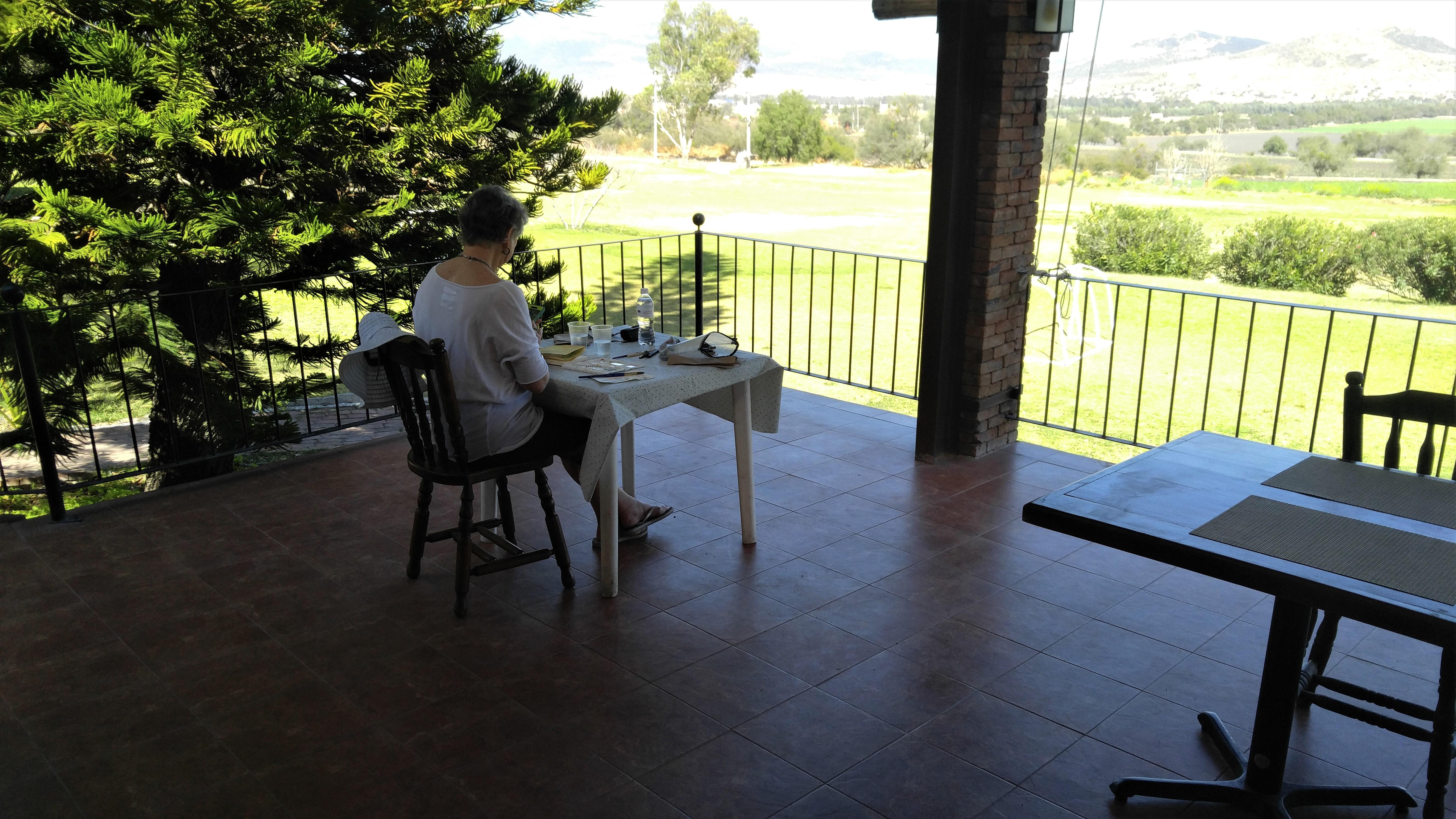 Private time at Purisima