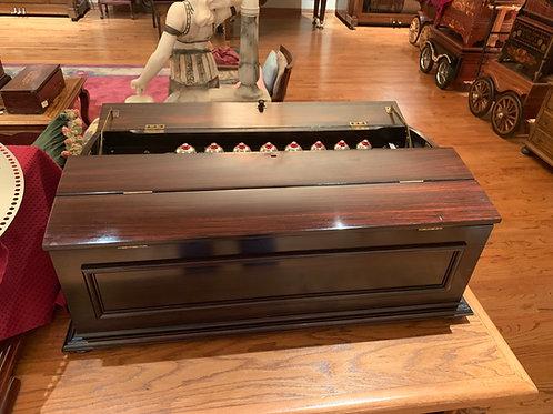 Polyphon Emerald 49C Disc Box, 16 Bells