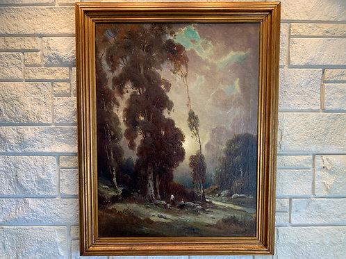 """Twilight"", Podchernikoff Alexis, Oil on Canvas"