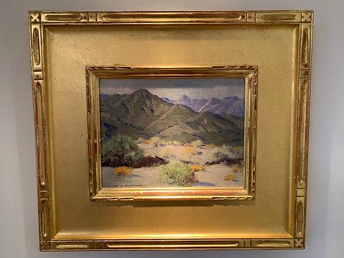 """Laguna Beach Landscape"", Griffith WM. A, Oil on Board"