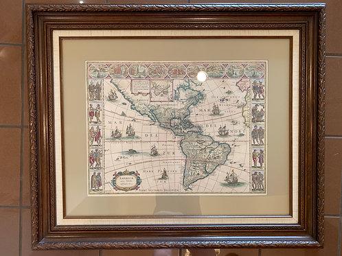 """""""America"""", Bleau, Map"""
