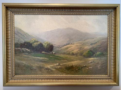 Landscape, Podchernikoff Alexis, Oil on Canvas