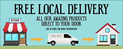 Animal House Bridport Free Local Delivery