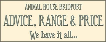 Animal House Bridport Advice Range Price