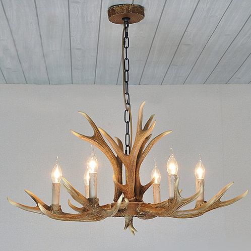Deer antler classic 6 candle lights