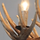 Thumbnail: Deer antler rugged 9 candle lights