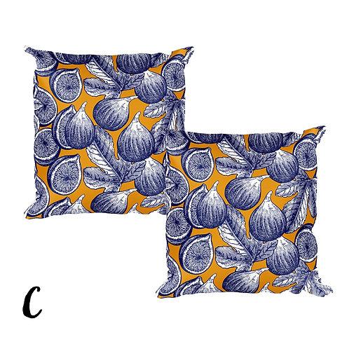Set of 2 decorative art cushion