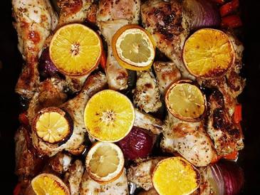 Herb & Citrus Baked Chicken