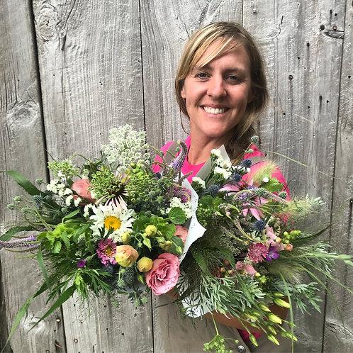 Seasonal Farm Friday Flower Bouquet
