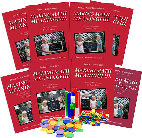Making Math Meaningful: Levels 1-4 Collection