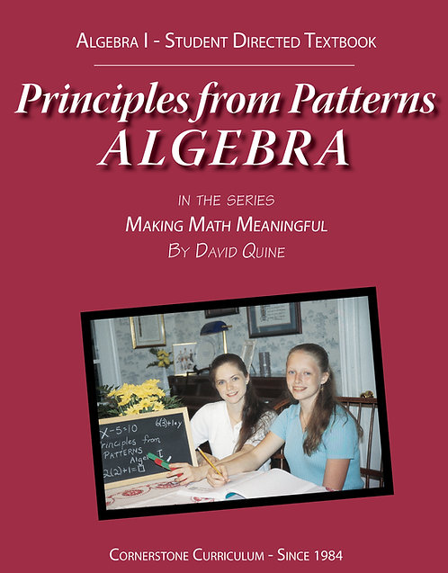 Principles from Patterns: Algebra