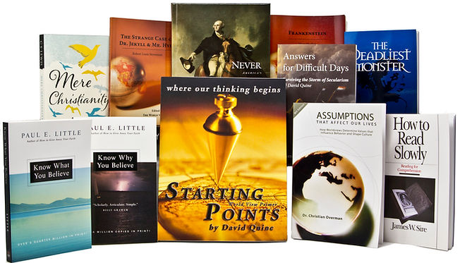 Starting Points Cornerstone Curriculum collection, homeschool education, junior high