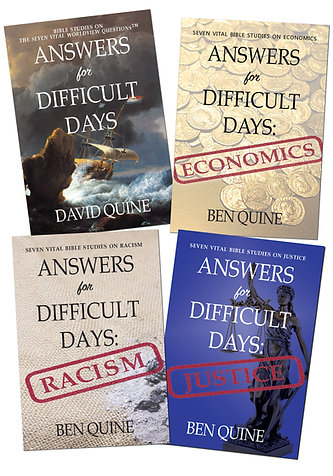Bible Study Set: Answers for Difficult Days