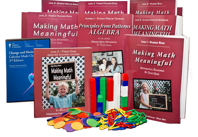Making Math Meaningful homeschool collection