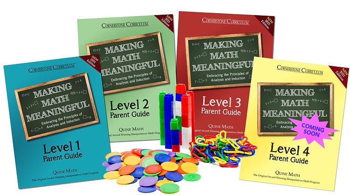 Levels 1-4 Making Math Meaningful Set