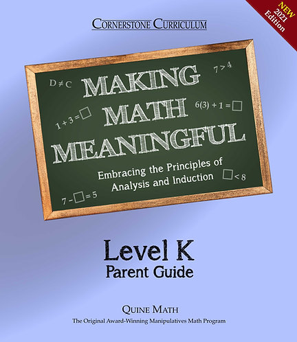 Level K Making Math Meaningful
