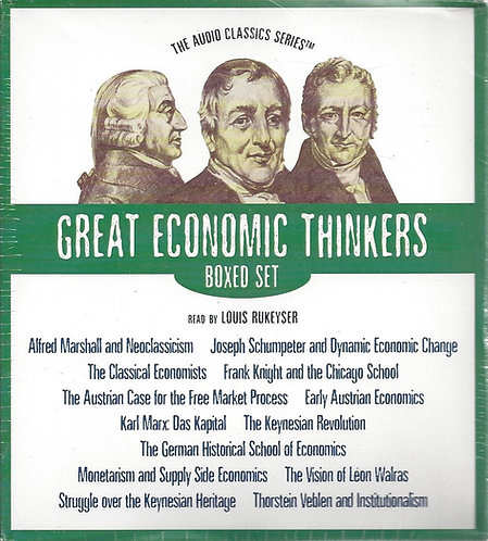 Great Economic Thinkers Box Set