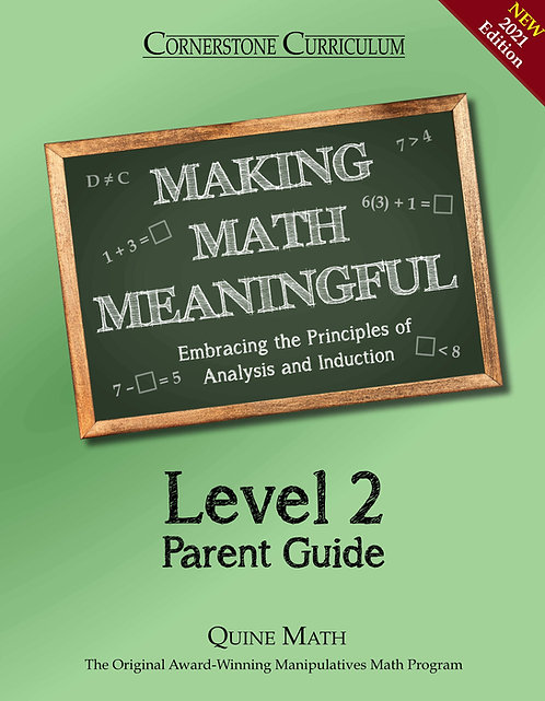 Level 2 Making Math Meaningful