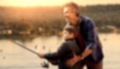 Father son discipleship Biblical Worldview Cornestone Curriculum homeschool education teaching fishing