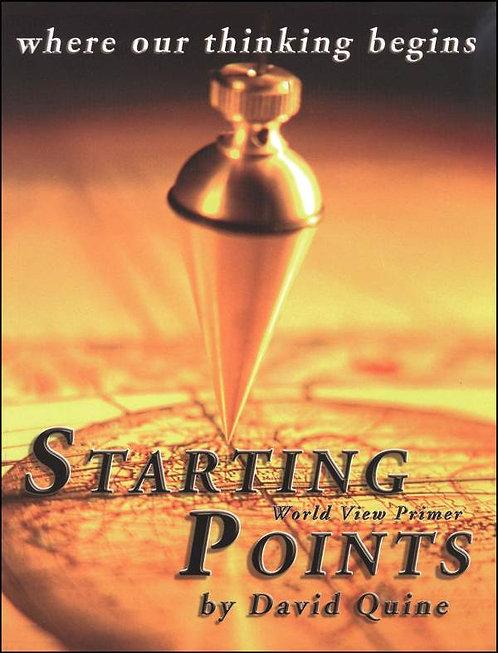 Starting Points Syllabus