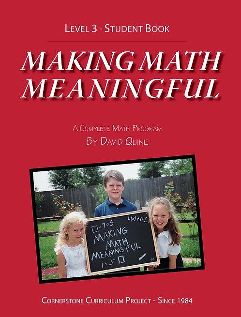 Making Math Meaningful: Level 3