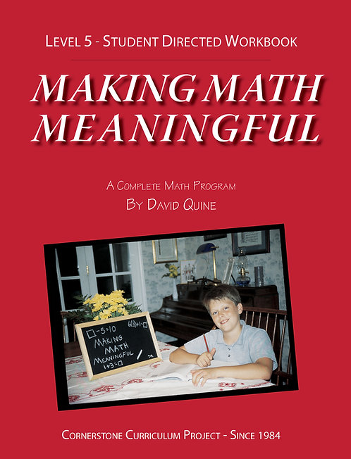 Making Math Meaningful: Level 5