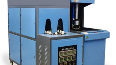 Semi-automatic 5L 1 cavity bottle blowing machine