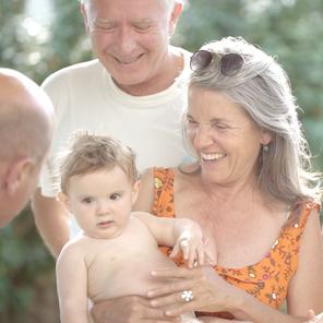FILM DE FAMILLE - LES GRANDS PARENTS